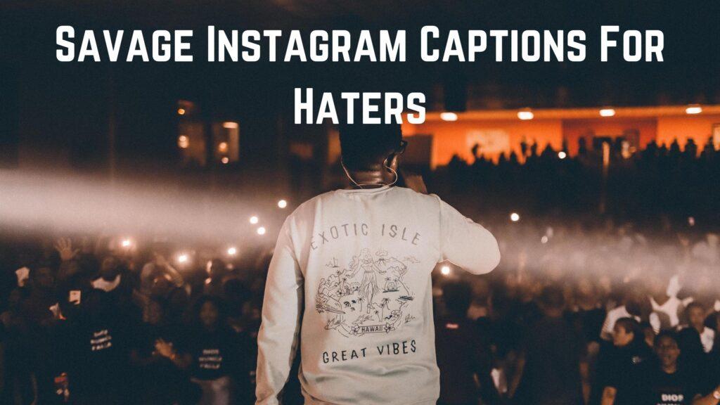 Instagram captions savage