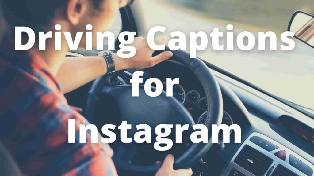 Driving Captions for Instagram