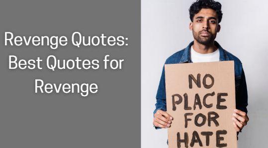 Revenge Quotes Best Quotes for Revenge