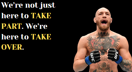 Best Conor Mcgregor Quotes that will Make you Feel Like a Champion